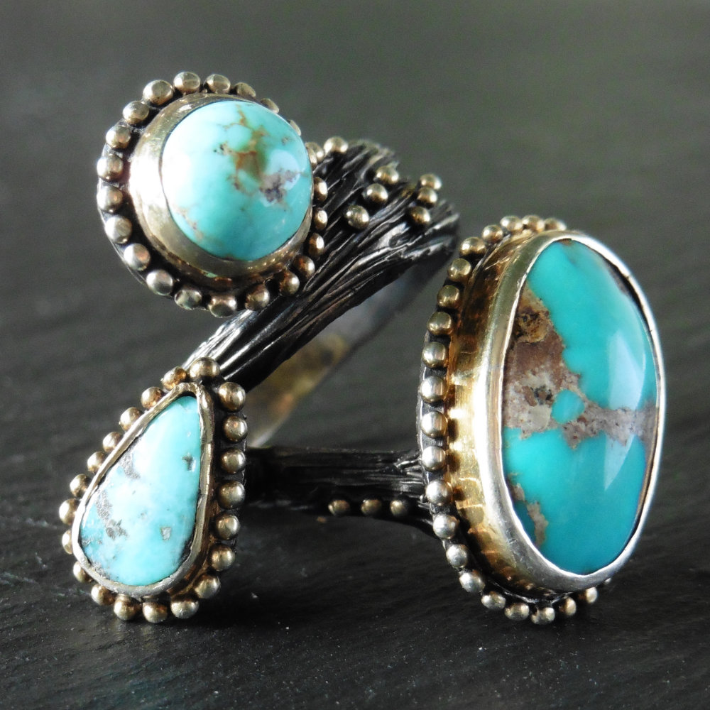 Persian Turquoise Ring by Bora – Scarlett Fiona Reed